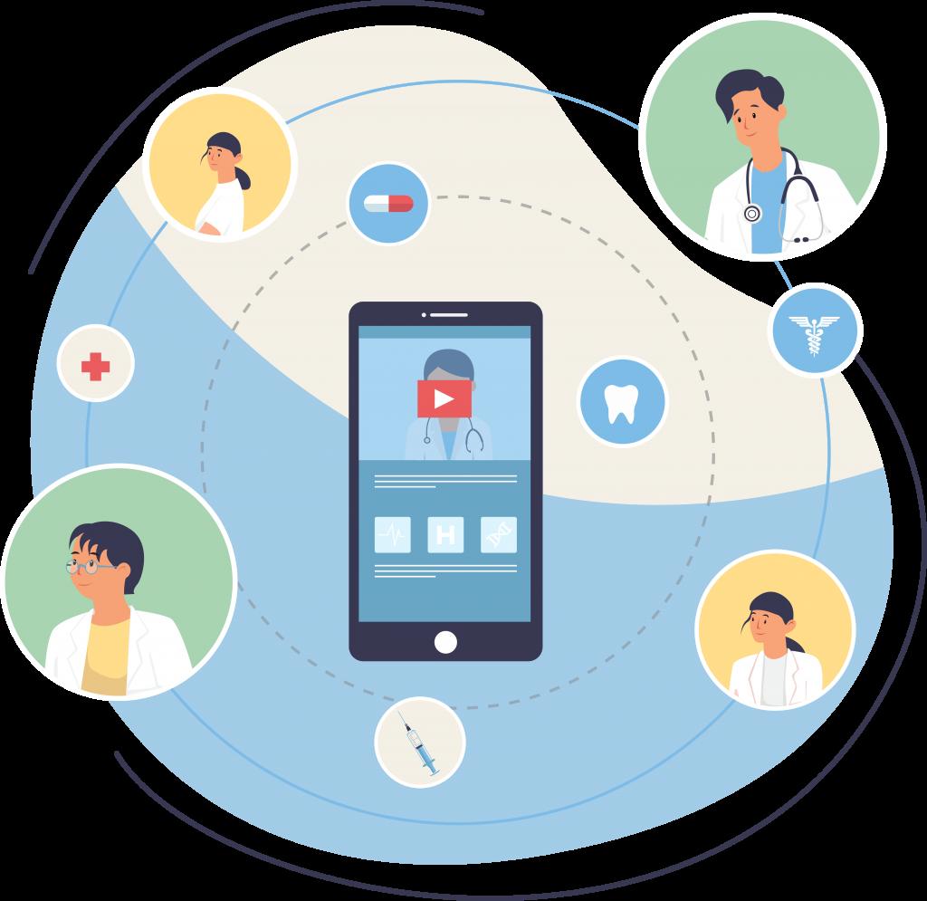 Comment utiliser la vidéo dans le secteur de la santé ?