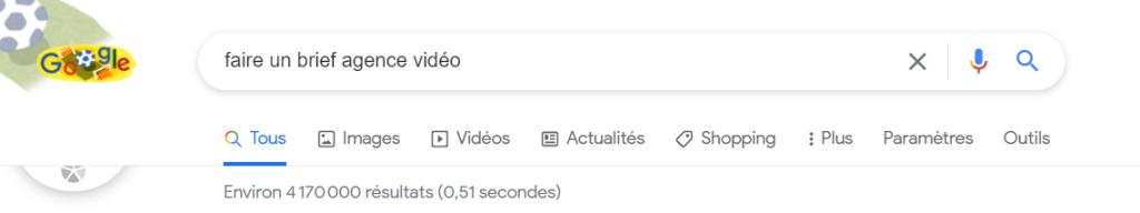Résultats de recherche Google vidéo 1