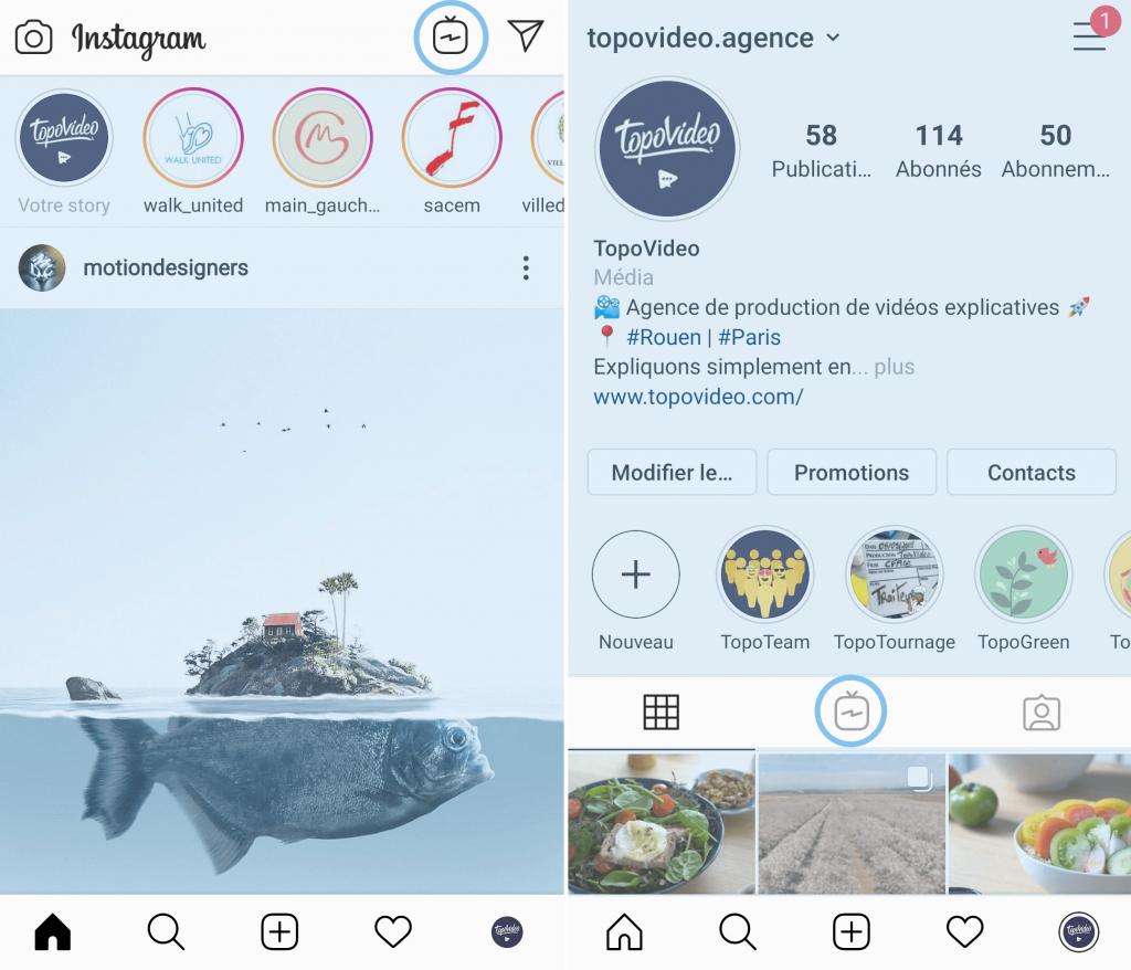 Idée de vidéos à publier sur instagram