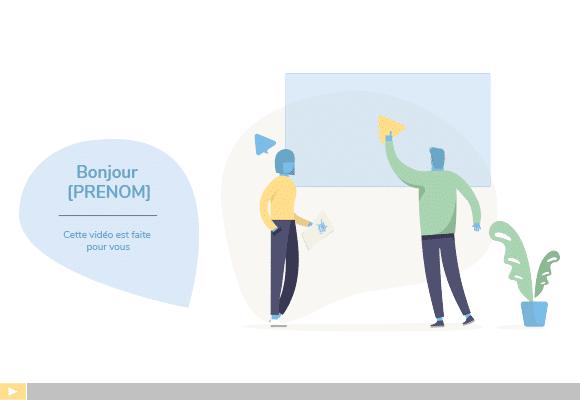 Intégrer la vidéo personnalisée à sa stratégie exemple1