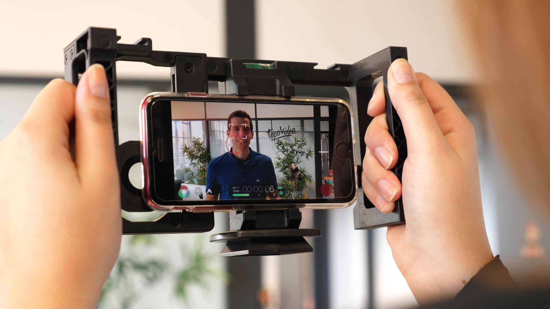filmer avec ton smartphone